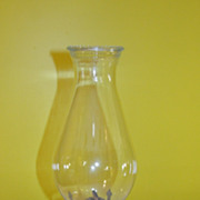 x'd out Kerosene Hurricane lamp - b49