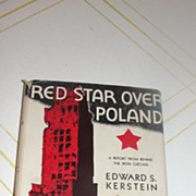 SOLD Red Star Over Poland by Edward S. Kirstein - Red Tag Sale Item
