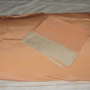 Sexy, Slinky peach Pillow Shams - b48