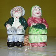 Golden Years Man and Woman Salt and Pepper Shakers