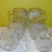 Nestle Globe Glass Mugs