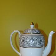 Wedgwood China Florentine Black Dragon outline W4312 Coffee Pot