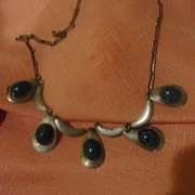 Pears a Plenty Silver Necklace - Free shipping
