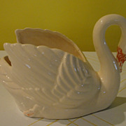 Brush Swan #631 Planter - b122