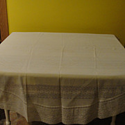 Round - Lines in the Lace - Tablecloth - b131
