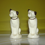 His Master's Voice RCA Nipper Salt and Pepper Shakers