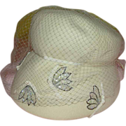 Veiled Intrigue Hat - b136