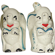 Disney Dumbo the Circus elephant Salt and Pepper Shakers