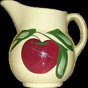 Watt Apple Yellow ware Pitcher/jug #15 - b140