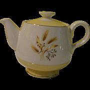 Century Service Corp Autumn Gold Mid Century Tea Pot - b143