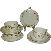 Hall Autumn Leaf Cup and Saucer