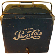 Vintage 1950's Pepsi Cooler