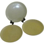 Mid-century Brusche Al Fresco 6'' Speckled Bread and Butter  Plates - G