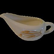 Golden Wheat Homer Laughlin Gravy bowl/boat - b150