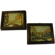 Bridge over Troubled Water 3-D Shadowbox Picture - b158