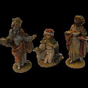 We Three Kings Italian Made Nativity Figures - b159