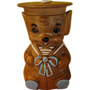 SOLD Twin Winton Sailor Mouse Cookie Jar - G