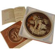 """Incolay Romantic Poets Collection Plate """"She was a phantom of Delight'' - b165"""