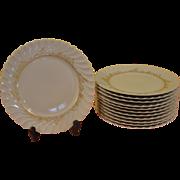 Ever Elegant Gold on White Ladore Haviland Limoges Dinner Plate - b168
