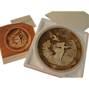"""Incolay Romantic Poets Collection Plate """"To A Skylark'' - b165"""