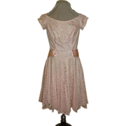 Pink is Always Pretty Lace Prom dress