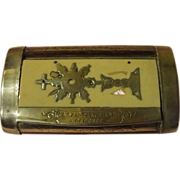 French Silver Plate Snuff Box