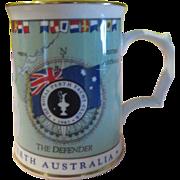 America's Cup 1987 Tankard Royal Worcester - b172