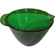 Mix it Up Anchor Hocking Forest Green Batter Bowl - g