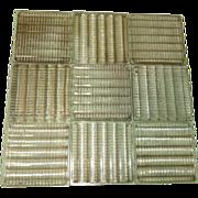 Sawtooth Prism Glass Suncather tiles - b59