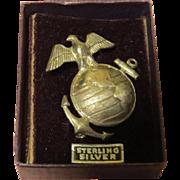WWII Eagle E Pluribus Unum Pin - Free shipping