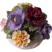 Aynsley English Bone China Flower Bouquet - b60