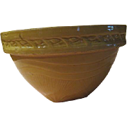 Glorious Sunrise McCoy Yellow ware Bowl - b174