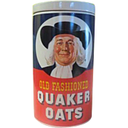SOLD Old Fashioned Quaker Oats Regal China Cookie Jar - g