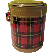 SOLD Picnic Perfect 50's The Skotch Kaddy By Peter Cabot Ice bucket/cooler