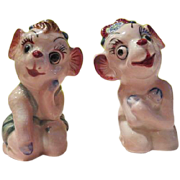Monkeying Around Salt and Pepper Shakers - b176