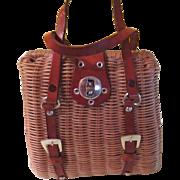 Woven Handbag styles by Mister Ernest