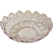Imperial Glass Crocheted Crystal Bowl - b172