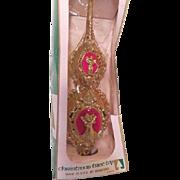 Bradford Golden Angel Carillon Tree Topper in Box - b182