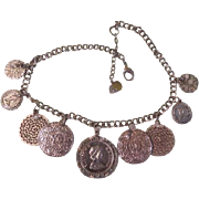 Coins of the Realm Necklace - free shipping