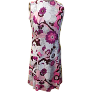 Plum Perfect Pink/Plum Print Skimmer