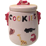 Animal Crackers American Bisque Cookie Jar
