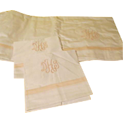 Egyptian Cotton Sheet and Pillow Cases - b44