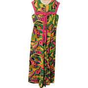 Totally trippy Psychedelic 60's Jumpsuit