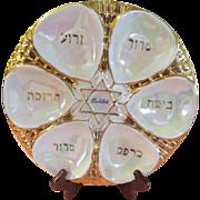 Karlsbad Paul Kuchler Passover Seder Plate - drh