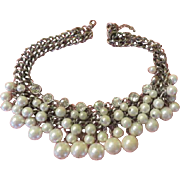 Fabulous Faux pearls necklace  - Free shipping
