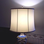 Victorian Porcelain Lamp