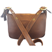 SOLD Coach Leather Shoulder Bag Patricia's Legacy Dark Brown