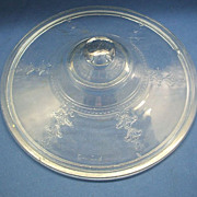 Fire-King Sapphire Blue Ovenware Round Casserole Lid Only