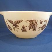 Pyrex Early American 441 Cinderella Mixing Bowl
