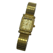 Milan Gold Tone Ladies' Quartz Dress Watch